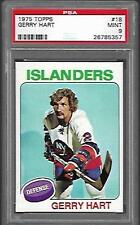 1975-76 Topps Vintage Gerry Hart PSA 9 Mint New York Islanders