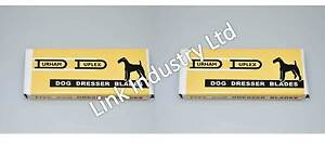 10 pces pet grooming blades to fit WAHL / DUPLEX DOG DRESSER, brand new in pack