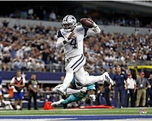 "Dak Prescott Dallas Cowboys Unsigned Rushing Touchdown 11"" x 14"" Photo"
