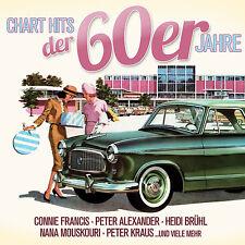 CD Chart Hits der 60er Jahre von Various Artists 3CDs
