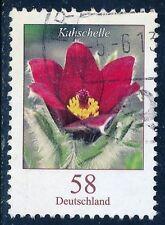 Echte gestempelte Briefmarken aus Deutschland (ab 1945) mit Blumen-Motiv