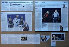 North By Northwest -  Theatre clippings/reviews - Olivia Fines & Jonathan Watton