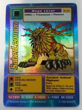 Digimon Trading Card Game Foil Saberleomon St-34