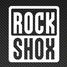 RockShox Rock Shox logo Vinyl Sticker Decal Car Window Mountain Bike mtb