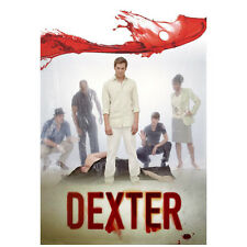 Dexter forensic team cast at murder scene with victim promo 8 x 10 Inch Photo