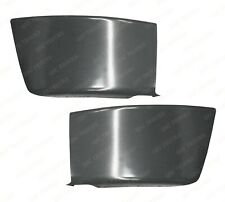 QSC Steel Front Bumper End Corners Left Right Pair for Freightliner M2 106 03-12