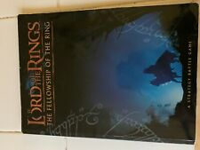 Lord of the Rings Games Workshop Book - The Fellowship of the Ring
