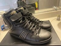 YSL Yves Saint Laurent Men's Studded High Top Sneakers Size 43/10 Gucci Yeezy