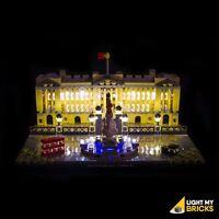 LIGHT MY BRICKS - LED Light kit for LEGO Buckingham Palace 21029 Lego Light Kit