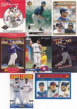 Alex Rodriguez 8 card lot (lot 9)