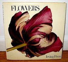 Irving Penn Flowers 74 Color Photographs Kromekote Paper HC DJ First Print