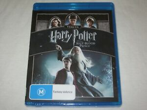 Harry Potter And The Half Blood Prince - Brand New & Sealed - Region B - Blu Ray