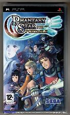 PSP Phantasy Star Portable (2009), UK Pal, Brand New Sony Factory Sealed