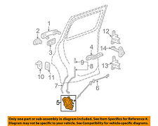 Chevrolet GM OEM 06-11 HHR Rear Door-Lock or Actuator Latch Release 20791794
