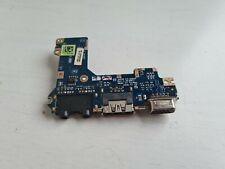 dell latitude e4200 laptop usb port board / carte usb cable original  vga usb