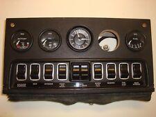 (59800) Jaguar Series 3 V12 XKE Etype Center Gauge Dash Panel