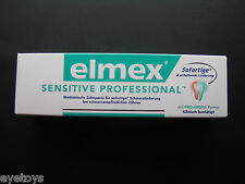 ELMEX SENSITIVE PROFESSIONAL for algesic teeth German Product 75 ml