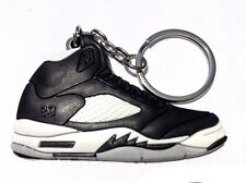 6538fed708b1 AIR JORDAN V 5 RETRO OREO BLACK WHITE SUPREME OG SNEAKERS SHOES KEY CHAIN  RING