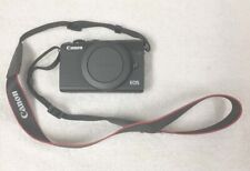 Canon EOS M100 24.2 MP Digital SLR Camera - Black (Body Only) Extras