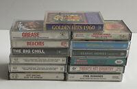 Soundtracks Country Miscellaneous Cassette Tape LOT 80s Disneys 90s