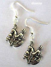 dreaming of a pony earrings - horse dream moon hearts equestrian