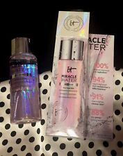 It Cosmetics Miracle Water Anti-Aging 3-in-1 Skin Brightening Glow Tonic +Bonus