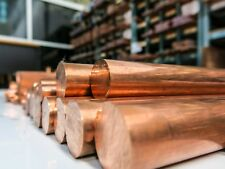 Copper Round Bar Rod Many sizes and lengths Coper Metal Strip Section