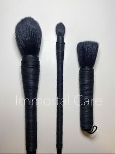 NARS Kabuki Mie Mizubake Face Eye Powder Blush Brush Set 100% Authentic RRP$149