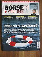 Börse Online Ausgabe 30 / 2014