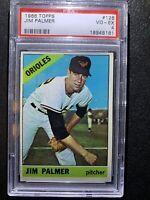 1966 TOPPS PSA 4 JIM PALMER GRADED #126 GREAT EYE APPEAL!!