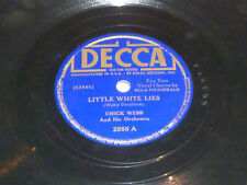 Chick Webb - Little White Lies / One Side of Me - 78rpm Shellac - Decca - 2556