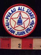Vtg PVAAU POTOMAC VALLEY AAU Swim Patch San Juan Puerto Rico Washington DC 79WI