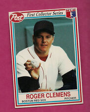 RARE 1990 RED SOX ROGER CLEMENS  POST CEREAL  CARD