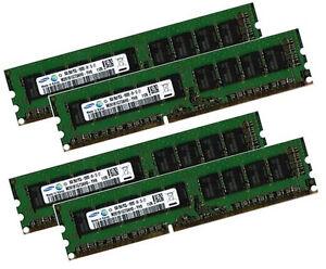 4x 8GB 32GB ECC RAM f. DELL PowerEdge T20 C5220 R210 II T110 II R220 PC3L-12800E