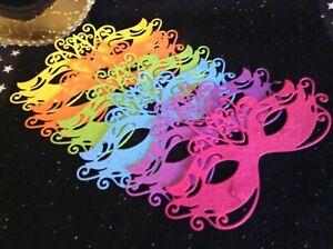 Die Cuts & Die Cut Stickers - Single Design - Masquerade Mask x6