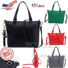 US STOCK Women's Handbag Shoulder Bag Messenger Large Tote Leather Ladies Purse