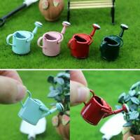1:12 Dollhouse Watering Can Garden Sprinkle Flower Pot Miniature Decor Gift Sale