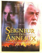 livre du film - le seigneur des anneaux -l'histoire du tournage de la trilogie