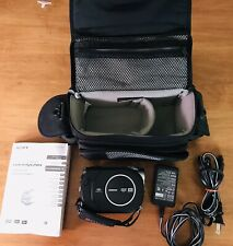 Sony HandyCam Dcr-Dvd650 Hybrid Camcorder 60x Optical Zoom W/Batt., Bag,& Cables