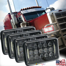 "5D 4x6"" Led Sealed Beam Headlights for Peterbilt Feightliner Kenworth T600A T800"