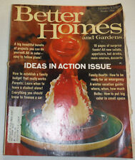 Better Homes And Gardens Magazine Ideas In Best Action October 1966 122014R