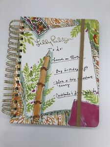 Lilly Pulitzer Journal Planner Daily Calender To Do Wire Ring Binder Gold