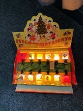 More details for pifco nursery rhyme fairy lights christmas bakelite set of 12 in box