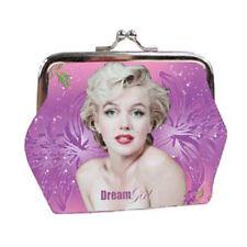 Pochette Portamonete Clic Clac Marilyn Monroe Colore Lilla