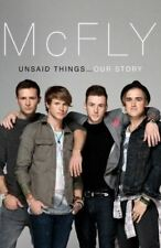 McFly - Unsaid Things...Our StoryFletcher, Tom, Like New, Hardcover