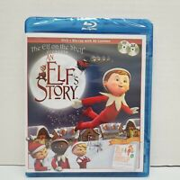 The Elf on the Shelf ~ An Elf's Story DVD/Blu-Ray w/3D Content Combo Pack SEALED