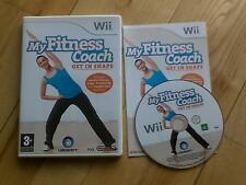 My Fitness Coach Get in Shape Wii cardio, yoga, weight loss routines