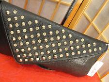 Charming Charlie Rhinestones Studs Black Chain Shoulder Handbag Purse Gift Idea!