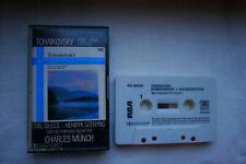 Tchaikovsky Piano & Violin Concerto - Henryk Szeryng, Emil Gilels Cassette RCA