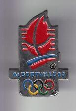 RARE PINS PIN'S .. OLYMPIQUE OLYMPIC ALBERTVILLE 1992 TORCHE RELAIS ARGENT 3D~17